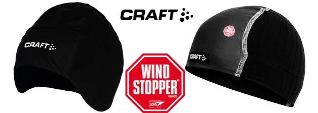 Велосипедные подшлемники Craft с WindStopper