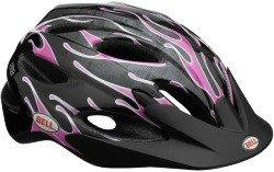 Велосипедный шлем Bell BUZZ black-pink slipstream