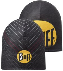Шапка BUFF COOLMAX REVERSIBLE HAT r-ultimate logo black-black