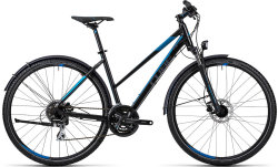 Велосипед Cube CURVE ALLROAD black-grey-blue