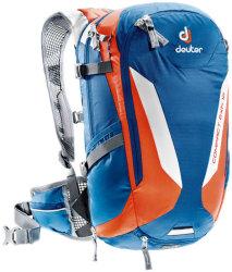 Велосипедный рюкзак Deuter COMPACT EXP 12 steel-papaya