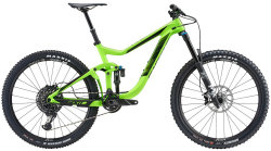 Велосипед Giant REIGN ADVANCED 1 27,5 neon green