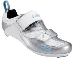 Велотуфли Giro FLYNT TRI silver