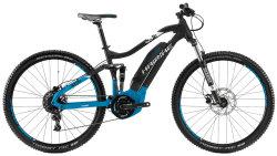 Велосипед Haibike SDURO FULLNINE 5.0 black-blue-white matt