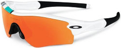 Очки Oakley RADAR POLISHED white fire iridium