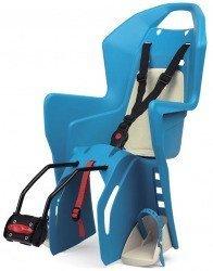 Детское велокресло Polisport KOOLAH FF blue-cream