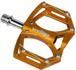 Педали алюминиевые Wellgo M194 orange