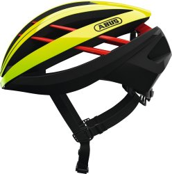 Велосипедный шлем Abus AVENTOR neon yellow