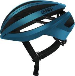 Велосипедный шлем Abus AVENTOR steel blue