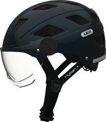 Велосипедный шлем Abus HYBAN+ clear visor midnight blue