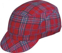 Велосипедный шлем Abus METRONAUT tartan red
