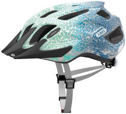Велосипедный шлем Abus MOUNTX blue animal