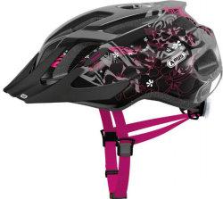 Велосипедный шлем Abus MOUNTX maori blackberry