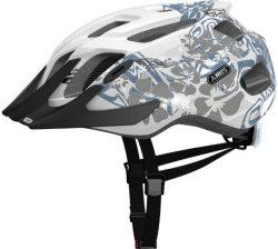 Велосипедный шлем Abus MOUNTX maori white