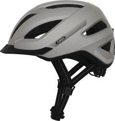 Велосипедный шлем Abus PEDELEC+ silver edition