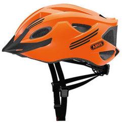 Велосипедный шлем Abus S-CENSION neon orange