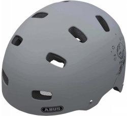 Велосипедный шлем Abus SCRAPER KID v.2 grey ride