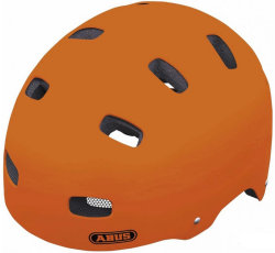 Велосипедный шлем Abus SCRAPER KID v.2 signal orange