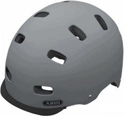 Велосипедный шлем Abus SCRAPER v.2 concrete-grey