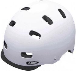 Велосипедный шлем Abus SCRAPER v.2 polar-matt