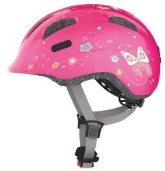 Велосипедный шлем Abus SMILEY 2.0 pink butterfly