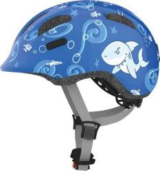 Велосипедный шлем Abus SMILEY 2.0 blue sharky