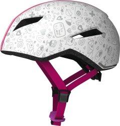 Велосипедный шлем Abus YADD-I KID white crush