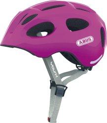 Велосипедный шлем Abus YOUN-I sparkling pink