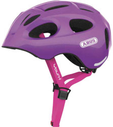 Велосипедный шлем Abus YOUN-I sparkling purple