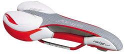 Велосипедное седло Allay RACING SPORT 2.1 white-red