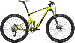 Велосипед Giant ANTHEM ADVANCED 1 27.5 lime