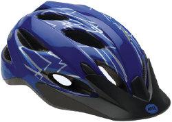 Велосипедный шлем Bell BUZZ blue flash
