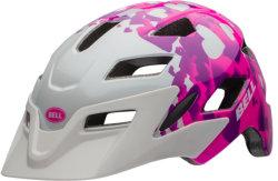 Велосипедный шлем Bell SIDETRACK CHILD pink-white love