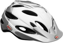 Велосипедный шлем Bell STRUT white-silver