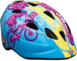 Велосипедный шлем Bell TATER blue-pink chihuahua