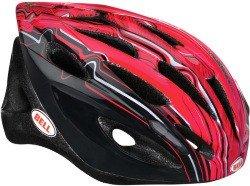 Велосипедный шлем Bell TRIGGER black-red rippler
