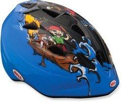 Велосипедный шлем Bell TATER black-blue-pirate