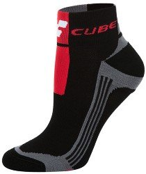 Носки Cube QUARTER SOCK blackline