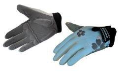 Велосипедные перчатки Exustar 530W blue
