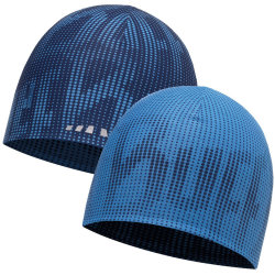 Шапка BUFF COOLMAX REVERSIBLE HAT r-deep logo dark navy-blue