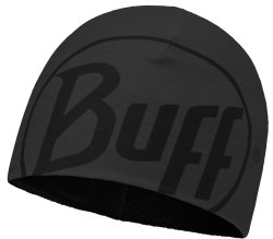 Шапка BUFF MICROFIBER & POLAR HAT logo graphite