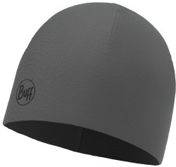 Шапка BUFF MICROFIBER & POLAR HAT solid grey castlerock