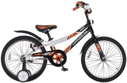 Велосипед Comanche SHERIFF W20 black-orange-white