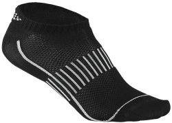 Носки Craft COOL TRAINING 2-PACK SHAFTLESS SOCK black
