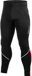 Велорейтузы Craft AB THERMAL TIGHTS black-bright red