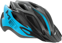 Велосипедный шлем MET CROSSOVER XL matt-cyan-black