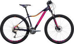 Велосипед Cube ACCESS WLS PRO 27.5 aubergine-pink