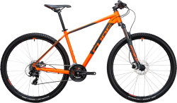 Велосипед Cube AIM PRO 27.5 flashorange-grey