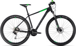 Велосипед Cube AIM SL 27.5 black-flashgreen