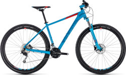 Велосипед Cube AIM SL 27.5 blue-red